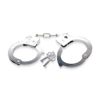 Metal Handcuffs By Fetish Fantasy