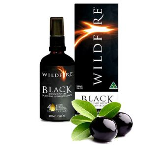 Wildfire All Over Exotic Massage Oil - Black