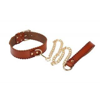 MUQU Leather Collar and Leash
