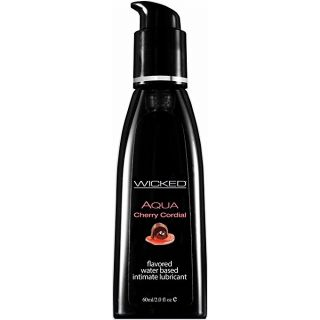 Wicked Aqua Flavoured Waterbased Personal Lubricants-Cherry Cordial