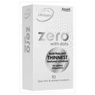 Ansell Zero With Dots 10 Pack