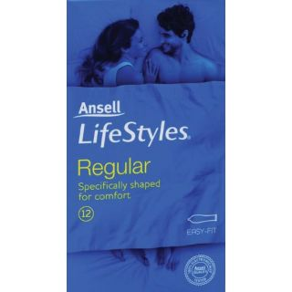 Ansell Lifestyles Regular Condoms 12s