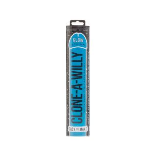 Clone-A-Willy Glow Silicone Blue