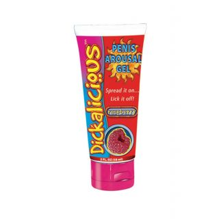 Dickalicious Penis Arousal Gel -  Raspberry