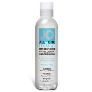 Jo All In One Sensual Unscented Massage Glide - 120ml