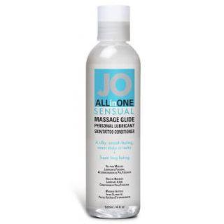 Jo All In One Sensual Unscented Massage Glide - 120ml