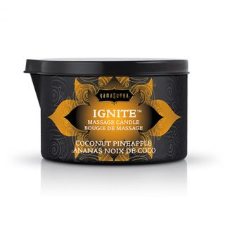 Kama Sutra Ignite Massage Candle - Coconut Pineapple