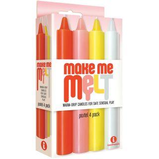 Make Me Melt Drip Candles - Pastel