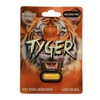 Tyger Male Enhancement Pills Single Capsule