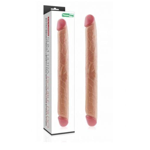 Realistic Slim Ultra Double Dildo 17 inch
