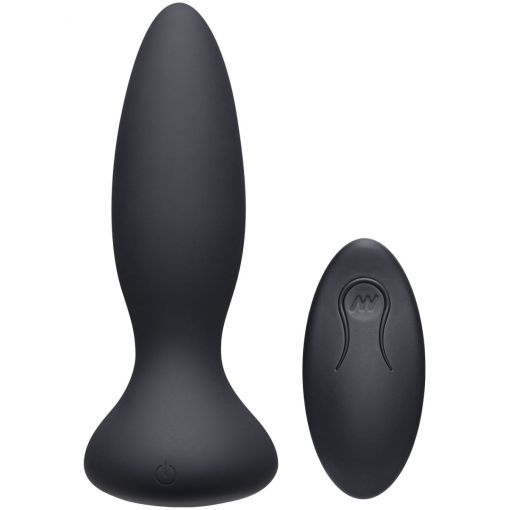 A-Play Anal Thrust Adventurous Butt Plug - Rechargeable with Remote