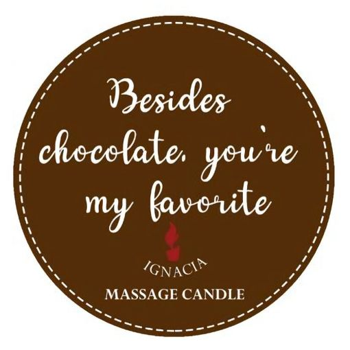 Besides Chocolate - Candle