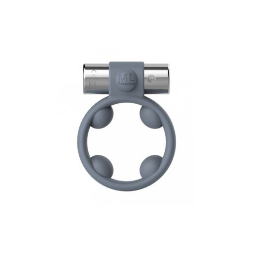 Cool Boy Silicone Cock Ring - Grey