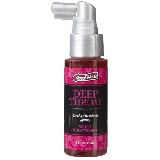 Sweet Strawberry Deep Throat Spray