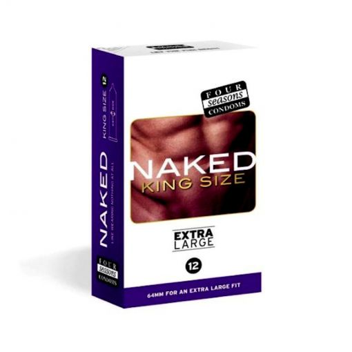Four Seasons Naked King Size Condom 12PK