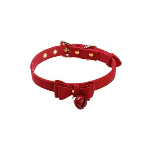 Kitty Collar Red
