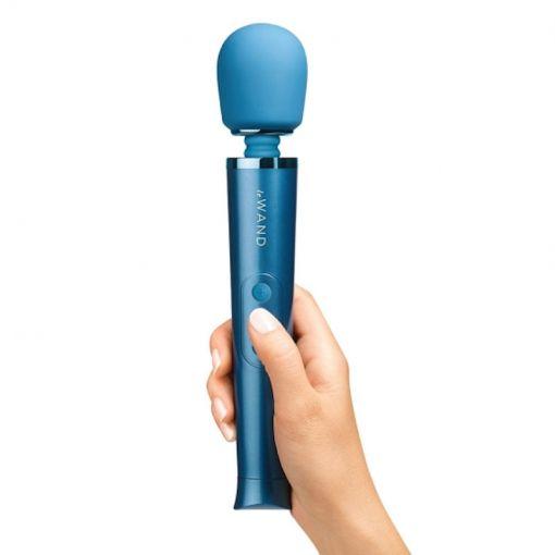 Le Wand Premium Petite Massager-Blue