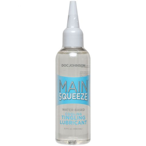 Main Squeeze Cooling Tingling Water-based Lube