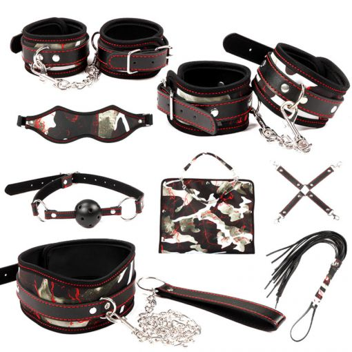 8 Piece Bag Bondage Kit