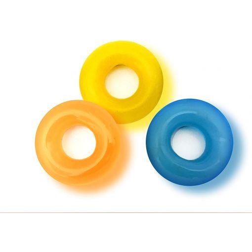Rascal D-Ring Glow Penis Rings 3 Pack