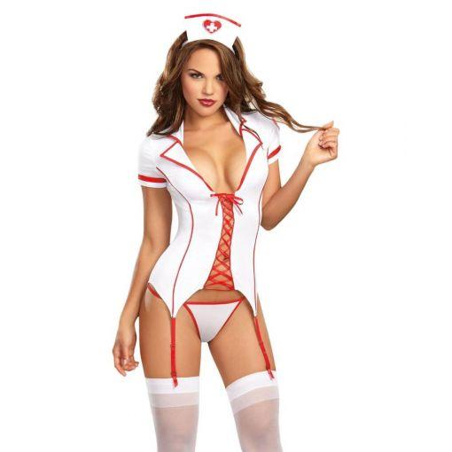 Dreamgirl Triage Trixie Costume